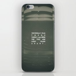 LOST ASTRONAUT iPhone Skin