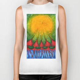 Closer To The Sun Biker Tank
