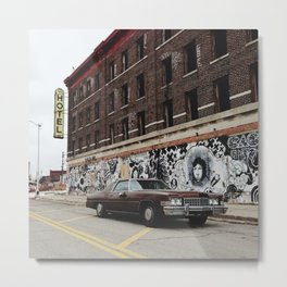 Hotel Roosevelt - Detroit, MI Metal Print