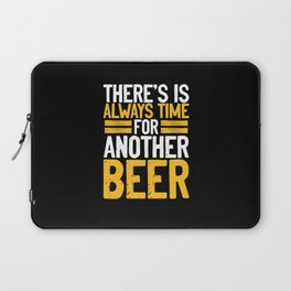 Is always time for a beer Laptop Sleeve