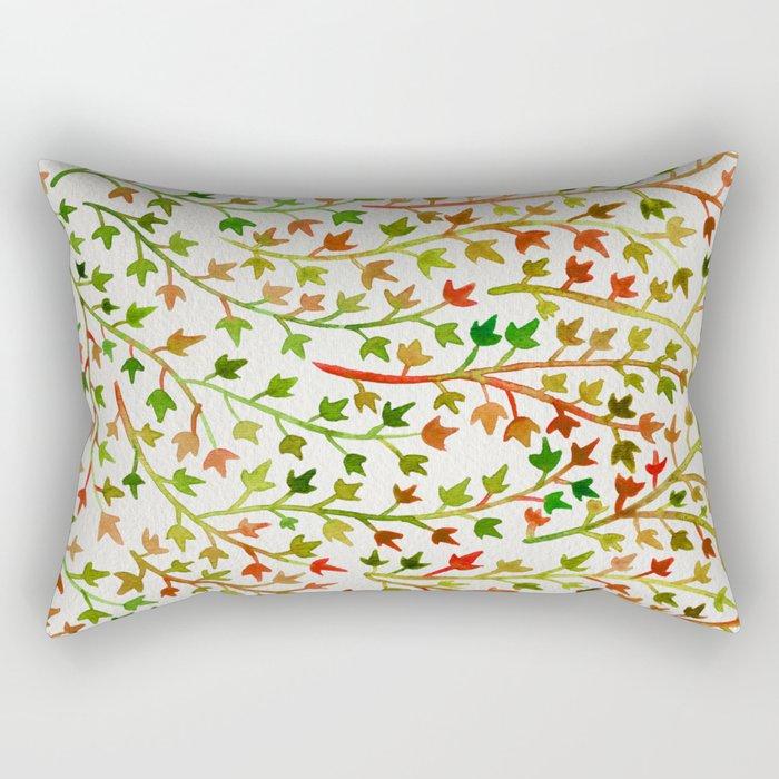 Autumn Ivy Rectangular Pillow