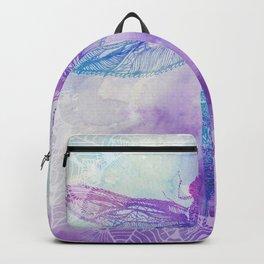 Mandala Dragonfly Backpack