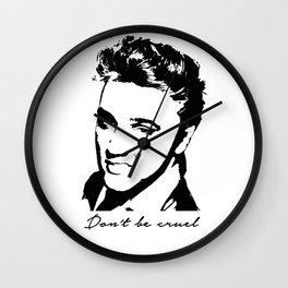Don't Be Cruel Wall Clock