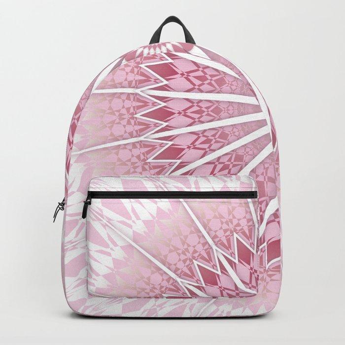 Dusky Pink Mandala Backpack