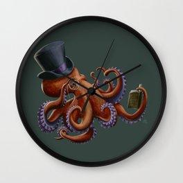 Tentacled Monocled Sir Wall Clock