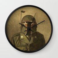 general Wall Clocks featuring General Fettson   by Terry Fan