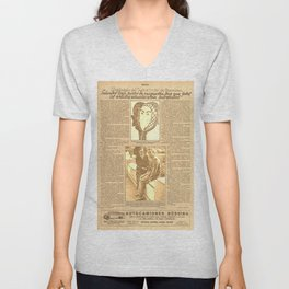 Salvador DALI. First interview. 1928 Unisex V-Neck