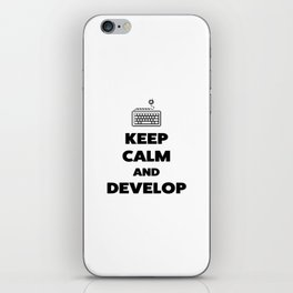 Keep calm and develop iPhone Skin