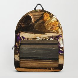 dry flowers and plants Backpack