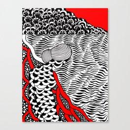 ocean, beach Canvas Print