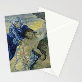 Pietà (after Delacroix) Stationery Cards