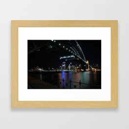 The beloved Sydney Harbour Bridge Framed Art Print