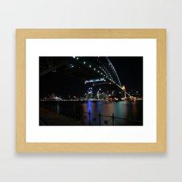 The beloved Sydney Harbour Bridge Framed Art Print