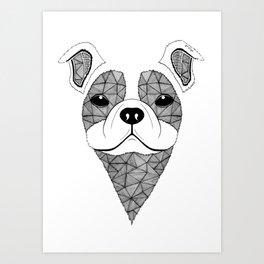 Bulldog  Art Print