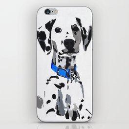 Winnie in blue iPhone Skin