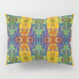 Blue Rainbow Pillow Sham