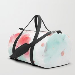 Abstract water lillies Duffle Bag