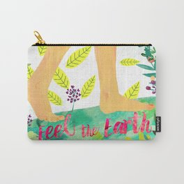 Feel the Earth Carry-All Pouch