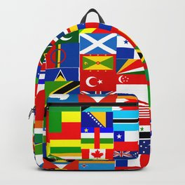 Flag Montage Backpack