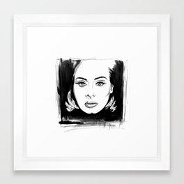 My A Framed Art Print