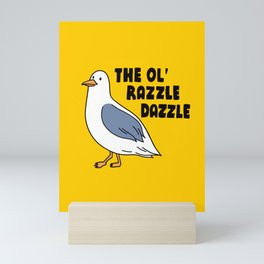 Day in the Life of a Seagull #1 Mini Art Print
