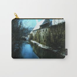 old mill in winter Carry-All Pouch