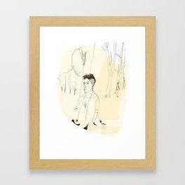 Young Londoner Framed Art Print