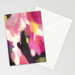 Acrylic Abstract Stationery Cards