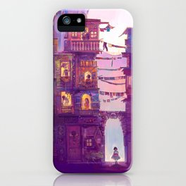 Little Girl Lost iPhone Case