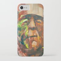 frank iPhone & iPod Cases featuring Frank by Jose Rivas
