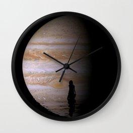 Jupiter bath Wall Clock
