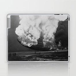 Hindenburg in flames Laptop & iPad Skin