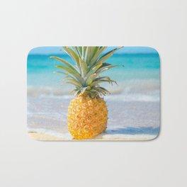 Aloha Pineapple Beach Kanahā Maui Hawaii Bath Mat