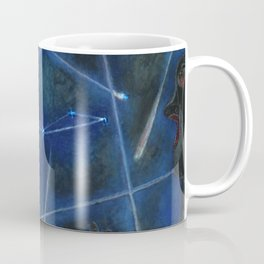Heavenly Bodies, Stars, Constellations, & Milky Way landscape painting by Rufino Tamayo Coffee Mug