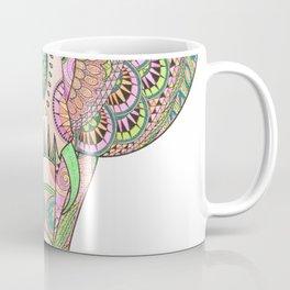 Mandala elephant psicodelic Coffee Mug
