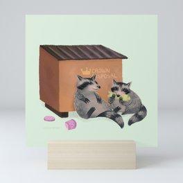Trash Pandas - Raccoons Mini Art Print