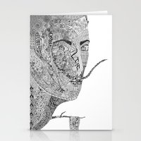 salvador dali Stationery Cards featuring Salvador Dali by Ina Spasova puzzle