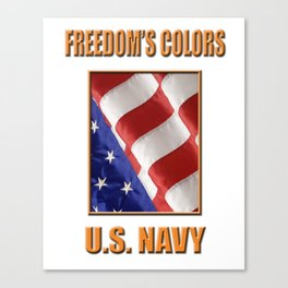U.S. Navy Canvas Print