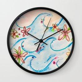 TIDAL LEI Wall Clock
