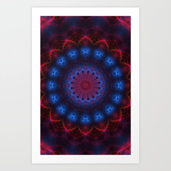 Sunday Kaleidoscope Art Print