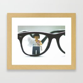 Wax in, wax out.... Framed Art Print