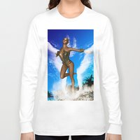 fairy Long Sleeve T-shirts featuring Fairy by nicky2342