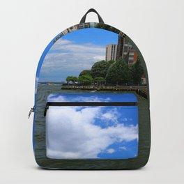 Manhattan And Hudson River Backpack