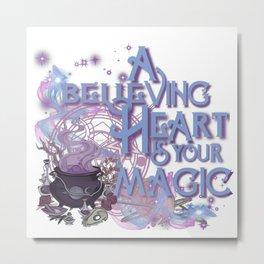 a believing heart - lwa Metal Print