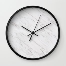 A Marble Wall Clock