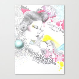 Rainbow Tears Canvas Print
