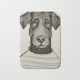 Larry the Labrador Bath Mat
