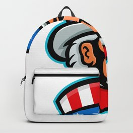 Uncle Sam Mascot Backpack