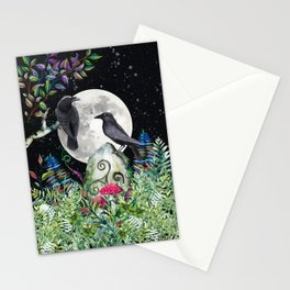 Raven Moon Magick Stationery Cards