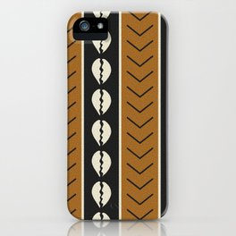 Let's play mudcloth iPhone Case